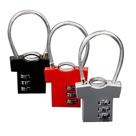Alibaba express Safety Combination Lock / Luggage lock / digit Combination Lock