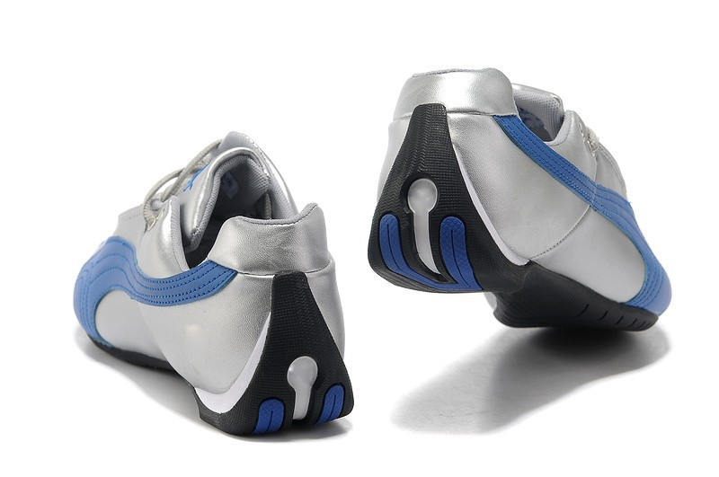 мужчины кроссовки кожаные ботинки для мужчин со скидкой Продажа 7701444 серебро и синий