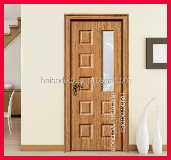 Nova vidro novos modelos de portas de madeira para Porte pour chambre en bois