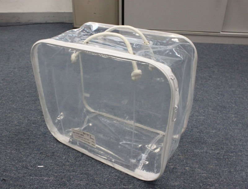 Clear Plastic Bags With Handles Clear Plastics Pvc Handle