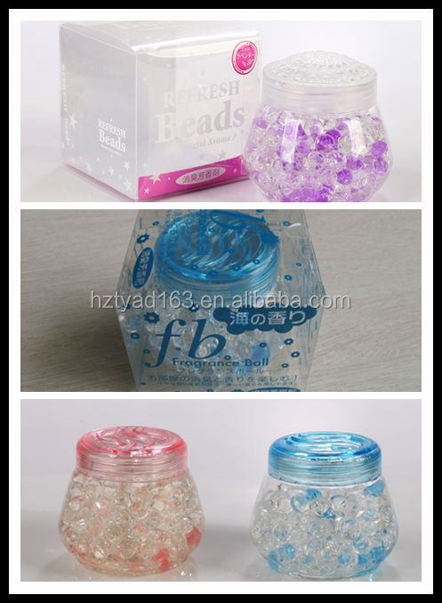 100g Colored Crystal beads Air Freshener