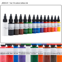 Краска для татуировки Dynamic 1oz 30 /14 JD20-01 14Colors