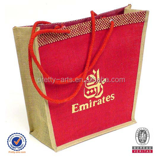 2014 new arrive personalized high quality jute bag wholesale