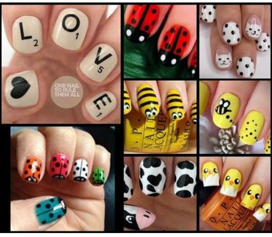 Какие рисунки могут быть на ногтях