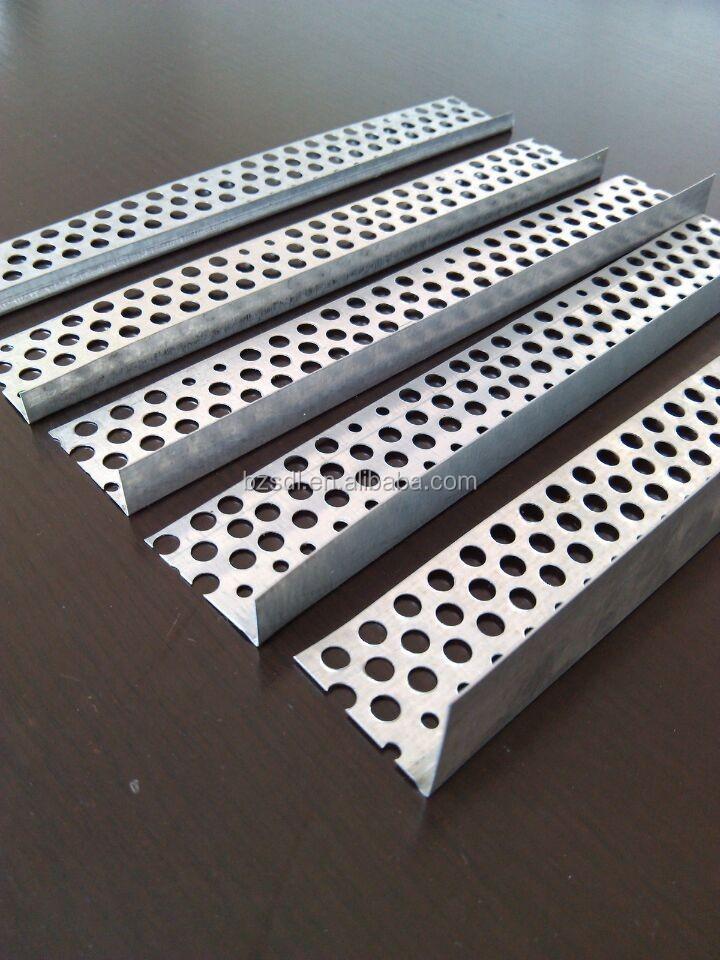 Drywall Corner Bead Types : L type galvanized steel corner bead buy
