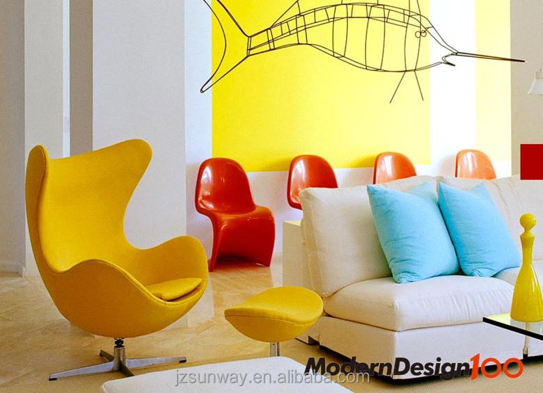 mode woonkamer meubels gele ei stoel-woonkamer stoelen-product-ID ...
