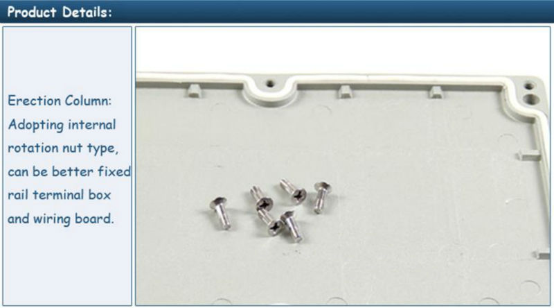 Saipwell High quality IP67 waterproof Customized Aluminum Box For Electronic 340*235*160MM WITH CE Approval