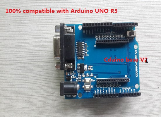 uno r3 shield wifi module omni directional antenna power adapter cduino base development board kit rc electronic toy