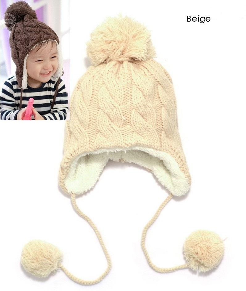 Вязание для детей : зимние шапки шапка спицами на зиму Hand-made 17