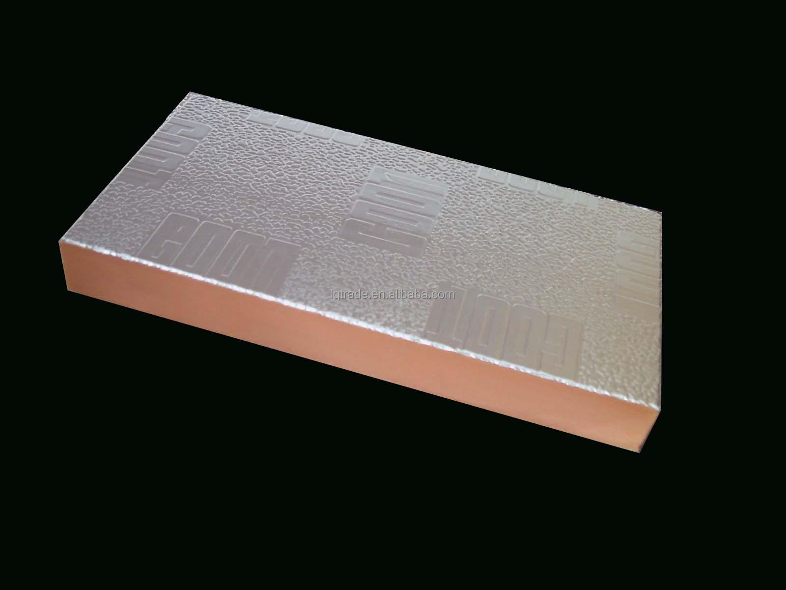 2 Insulation Panels : Two sides aluminum foil phenolic foam insulation board lq