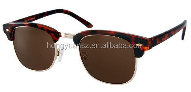 2014 New Model Half Frame Fake Brand Sunglasses - Buy Fake ...