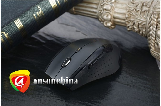 Hot selling high-tech optical mouse/2.4Ghz wireless mouse with mini receiver
