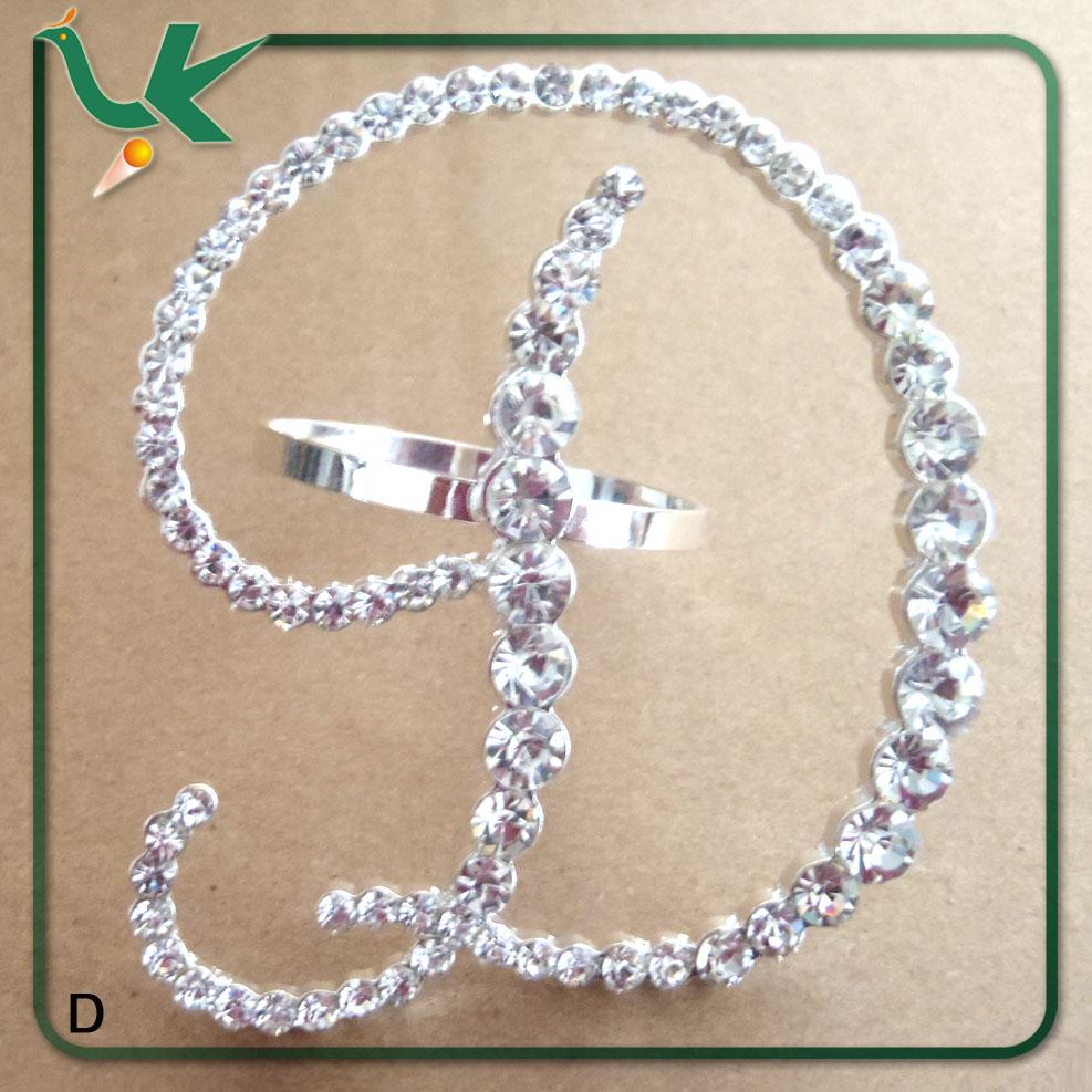 2014 bulk wholesale letter rhinestone