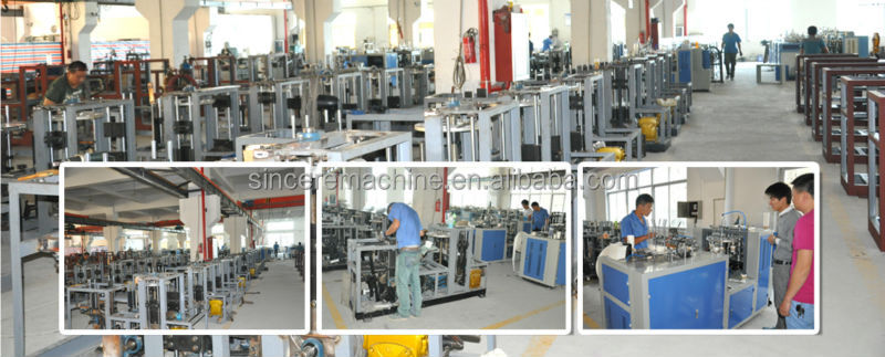 DGT-400 semi- automatic muffin baking cup forming machine
