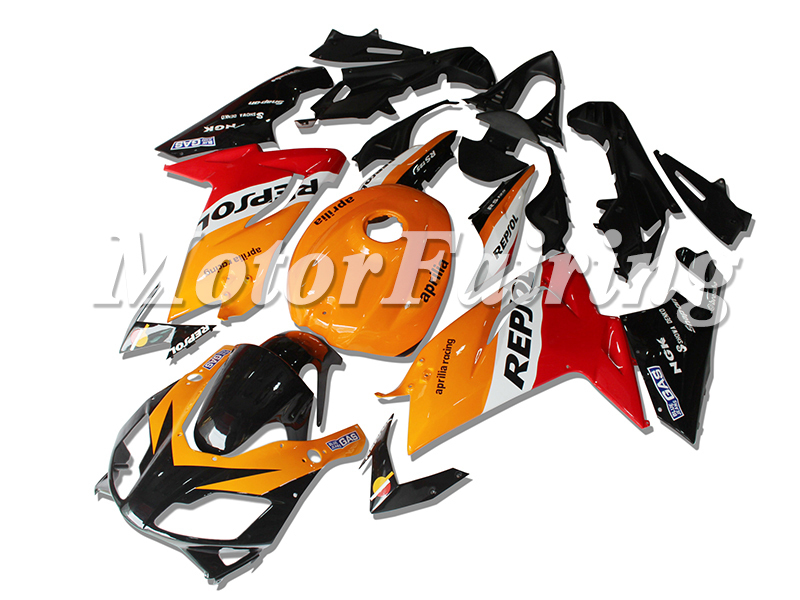 Fairing Part Names 07-10 Fairing Parts rs 125