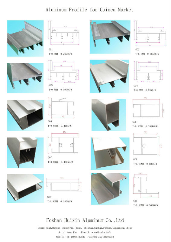 Good Selling To Philippines Market Aluminium Z Profile For