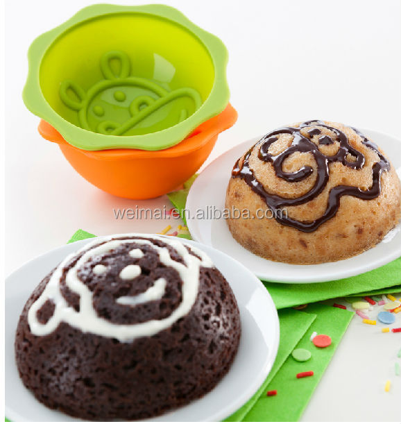 halloween silicone pumpkin shape cake mold/pan/mould