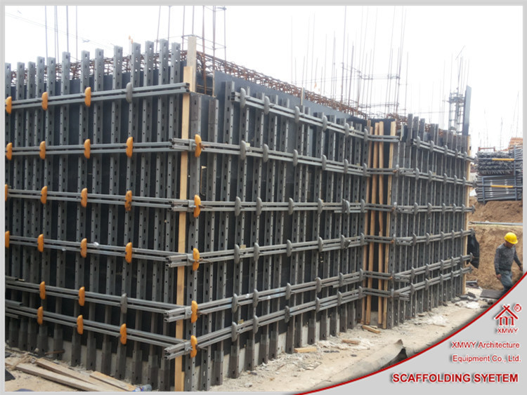 Steel Wall Form : Q steel wall concrete formwork system buy