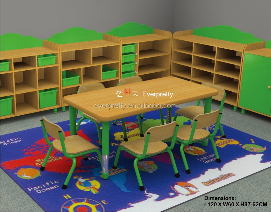 Classroom Furnitures : Desk and chair free daycare furniture used