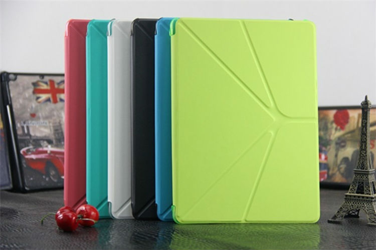 Factory hot supply tablet accessories rotate stand case for ipad air