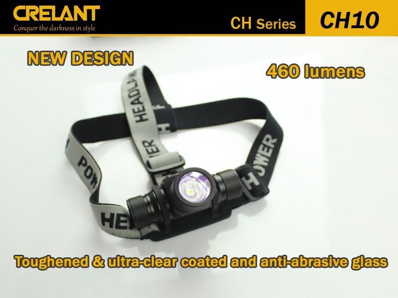 Налобный фонарь CRELANT CH10 460 Cree xm/l2 4 ipx/8 1 * 18650 2 * CR123