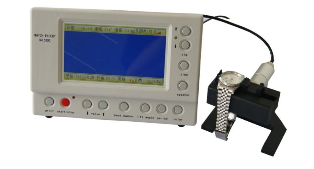 Смотреть Эксперт Смотреть Ремень Машина Многофункциональный Timegrapher НЕТ. 5000 для rolex часы ремонтников смотреть любителей