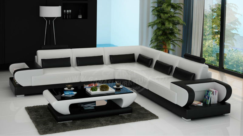 G8003B-2.jpg & New Sofa Styles 2013! Ganasi Leather Couch Italian Furniture - Buy ...
