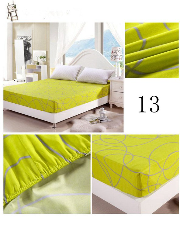 2018 Wholesale Wholesale Bed Sheet Cotton Printed King Size Fitted Sheets  Mattress Cover 180*200cm Bedsheet F15 1 From Chouett, $31.69 | Dhgate.Com