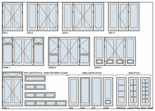 Aluminium Sliding Door Design Drawings 600 x 431