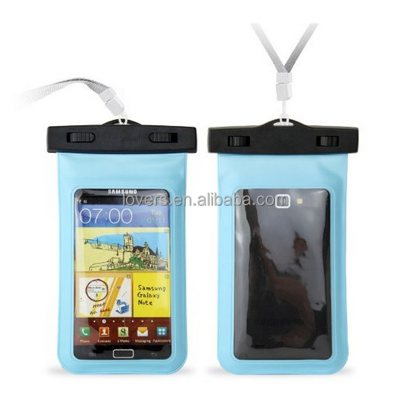 pvc waterproof bag for phone