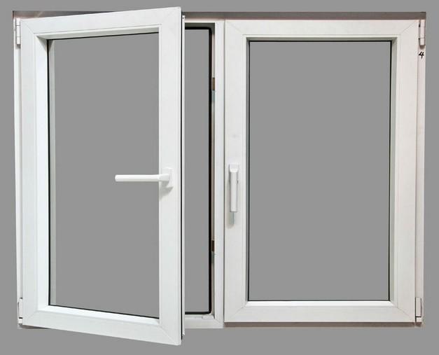 Metal Frame Window Panels : Aluminum casement window with fixed panel