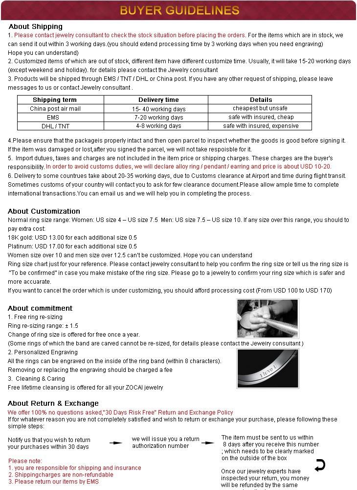 Кольцо ZOCAI CT 0.6 i/j /si 18 K W02282