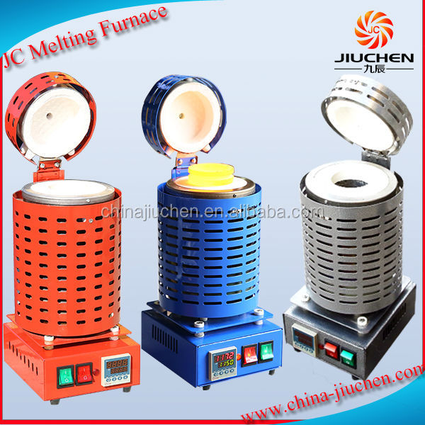 Tilt-Pour Portable Handheld Automatic Gold Melting Furnace