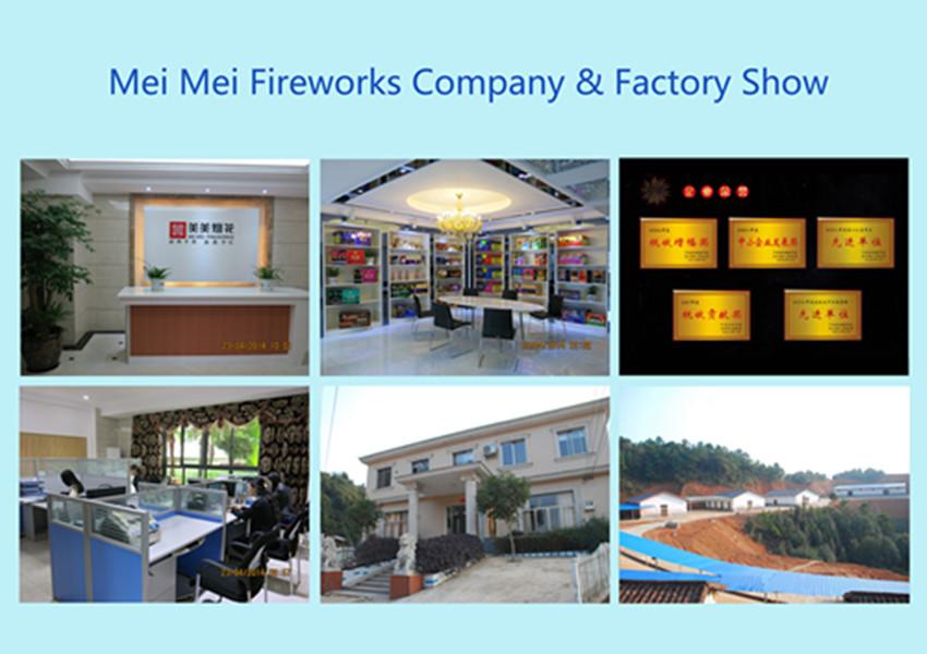36s 1.4G Mix Tube Cakes Fireworks