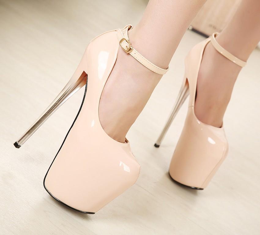 Туфли на высоком каблуке 18 1288