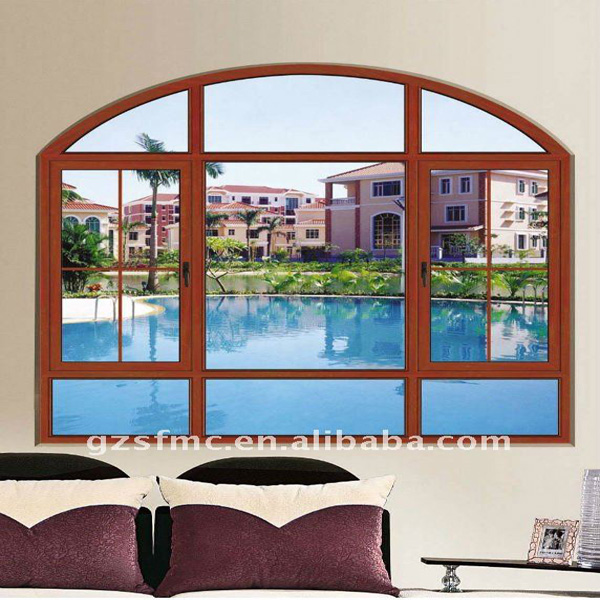 Frence Arch Window Grill Design, View Window Grill Design