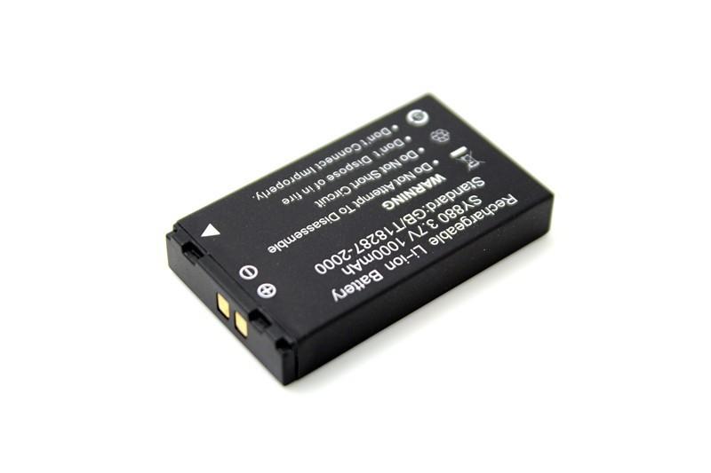 Аккумулятор Li-ion 100% 1000mAh li/on wdv5000 dv SY880