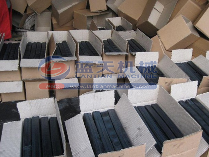 Superior quality wheat straw charcoal briquette making