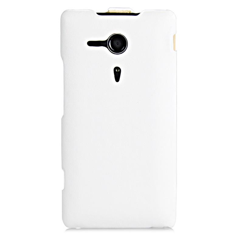 IMUCA מעצב טלפון נייד שקיות&המקרים עור flip אנכי case כיסוי עבור Sony Xperia SP M35h טלפון תיקים ואביזרים