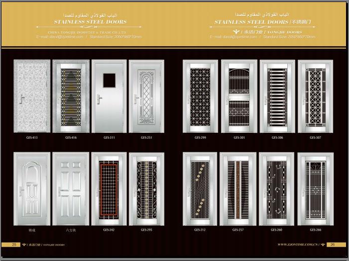 Metal steel grill door designs joy studio design gallery for Entrance grill door designs