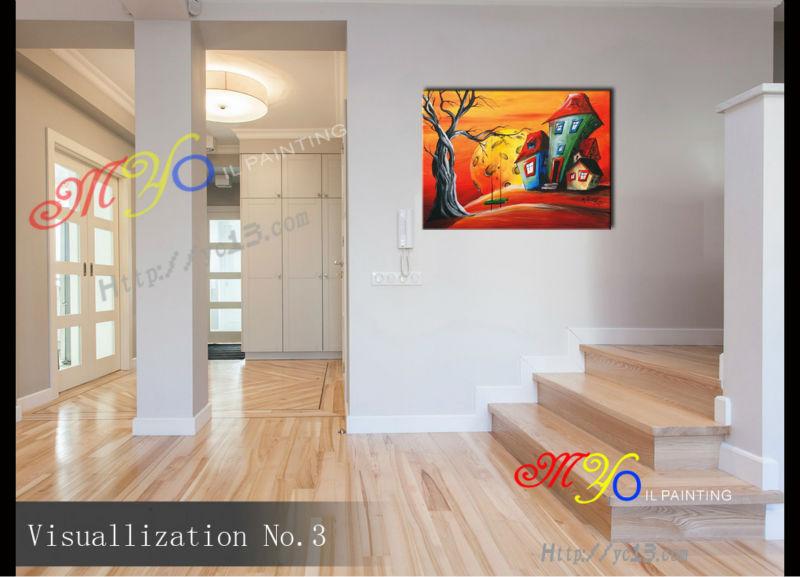 schilderij woonkamer wanddecoratie