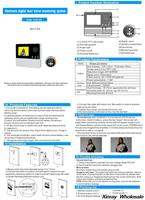 Дверной глазок Xinray 100pcs/lot 2.8 3 x 120 601c/2a 601C-2A