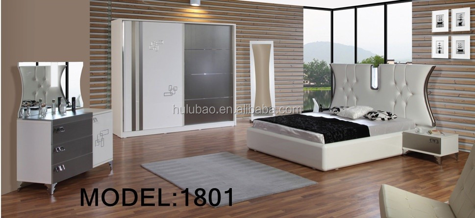 high fashion mdf master bedroom furniture design 1803. Black Bedroom Furniture Sets. Home Design Ideas