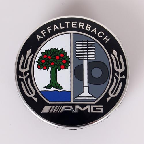 Amg Affalterbach Colourful Steering Wheel Badge Mercedes