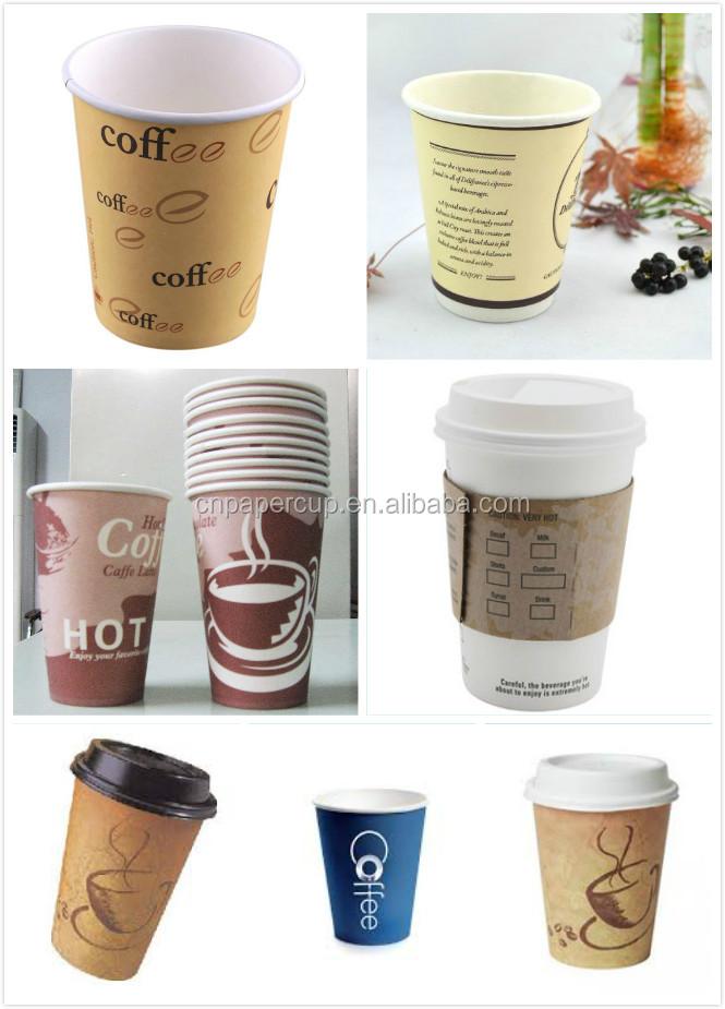 Polka dot design paper cup wholesale