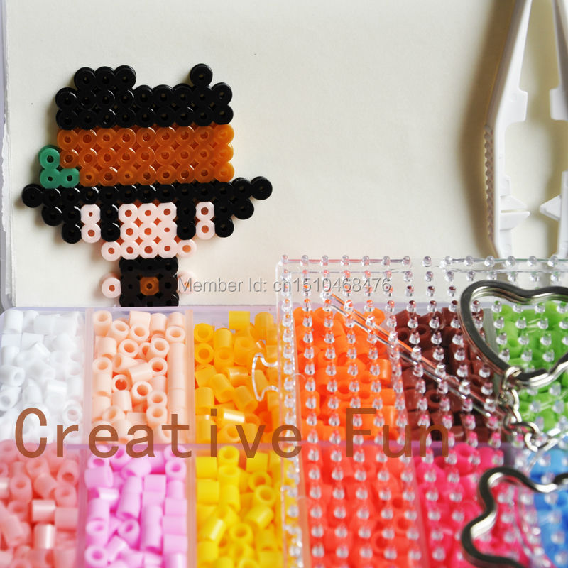 puzzles whole r shuizhusanxian sells whole 5mm hama beads 5 buy whole 5mm hama beads 24 colors 5 500pcs box set 1 big template 10iron papers 2tweezers fuse perler