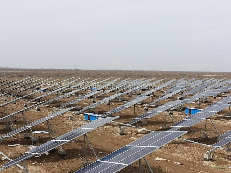 120kw single-axis Solar Tracker System