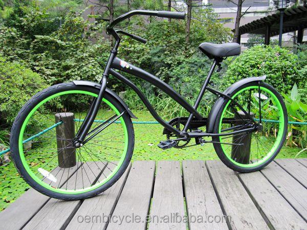 26 inch girls model hot sale beach cruiser chopper bike