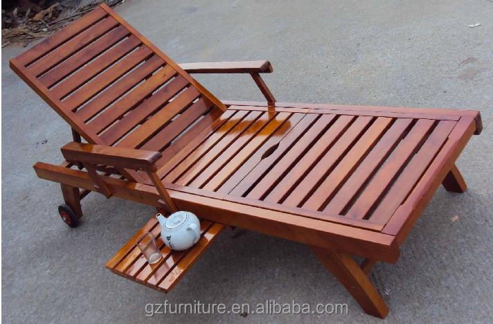 Attirant Outdoor Sun Lounger Chaise Garden Chair Furniture Patio Recliner ...
