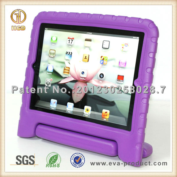 high quality tablet cover Kiddie Series EVA Light Weight Shock Proof Handle Case